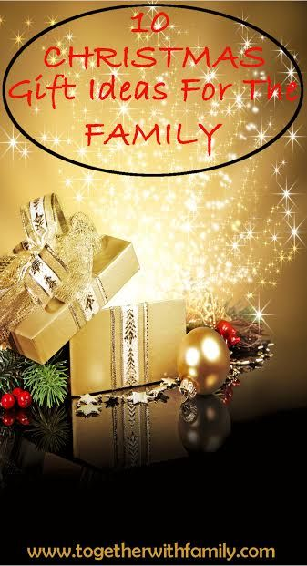 Are you looking for the perfect family gift to buy or to add to your own family's wish list? Here are 10 great family gifts!