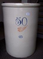Would love to have one ! 425-rare-red-wing-stoneware-50-gallon-crock