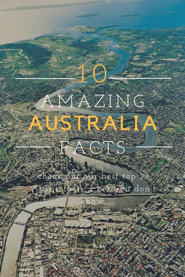 Australia won a certain generation's hearts with Scott and Charlene's wedding in Neighbours, followed by intense TV love affairs with Home and Away, Heartbreak High and personal favourite, Round The Twist. And yet there's so much more to Australia – check out our best top 10 Aussie facts, I bet you don't know.