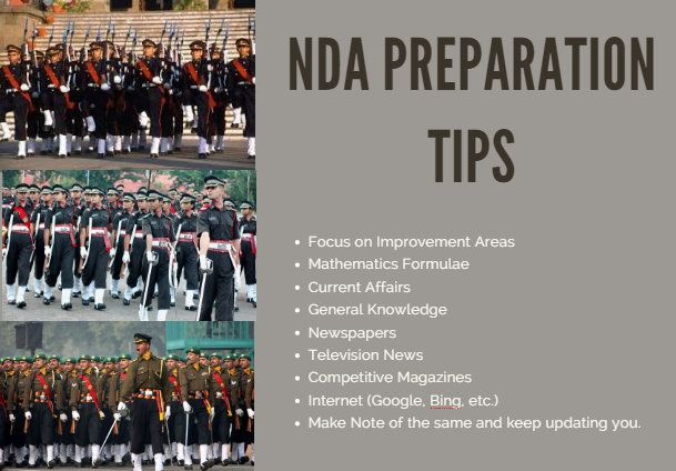 NDA exam is for joining the military forces. NDA exam is not everybody's cup of tea. Everyone can't dream of joining  military services because of eligibility requirements of NDA exam. To join military forces one needs to be mentally and physically fit. Candidate should meet the weight and height requirements to appear for NDA exam.