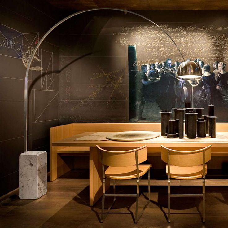 BuyFlos Arco Floor Lamp, Silver Online at johnlewis.com