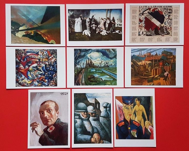 #retweet #postcards Lot of 9 NEW Postcards of World War One WW1 Art Paintings #RT 50% OFF when you Buy 3+