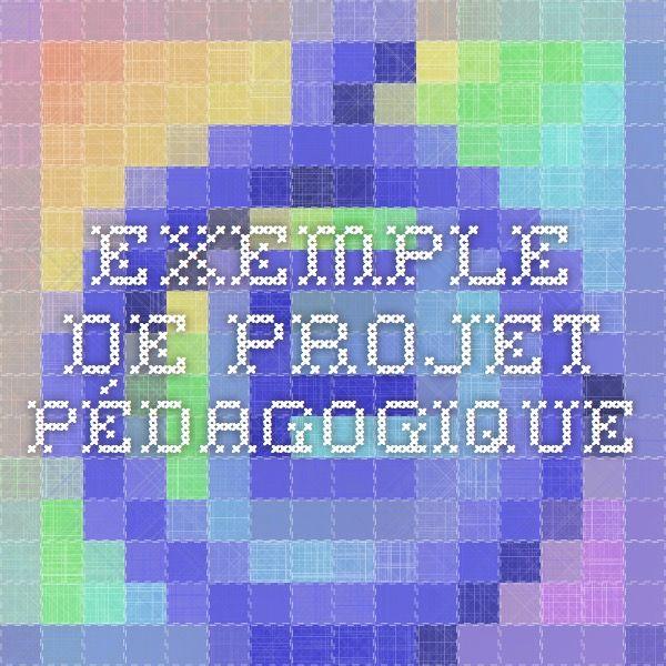 Exemple de Projet Pédagogique  Classe/découverte montagne