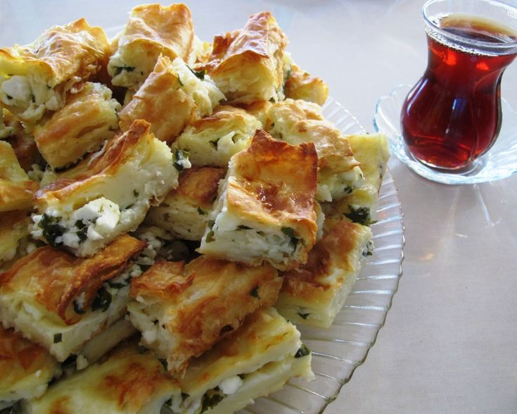 Water Borek Served