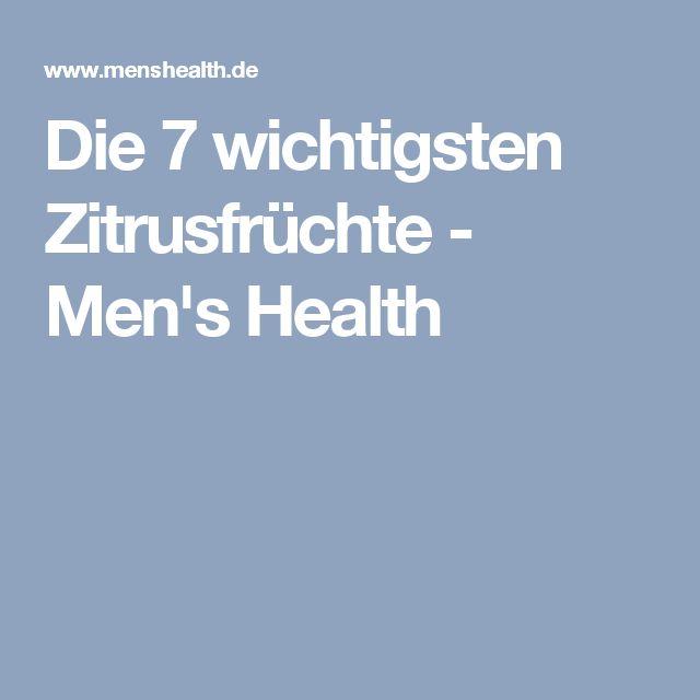 Die 7 wichtigsten Zitrusfrüchte - Men's Health
