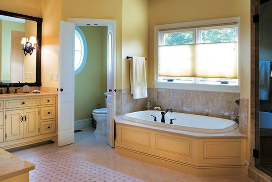 8 best images about bathroom paint colors tips on for Warm bathroom colors