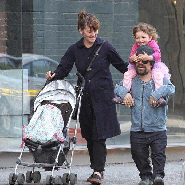 Image result for peter dinklage and his wife