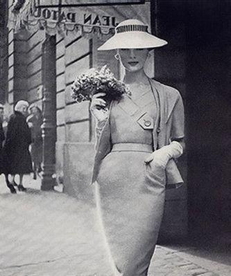 Paris pattern 1955 Patou