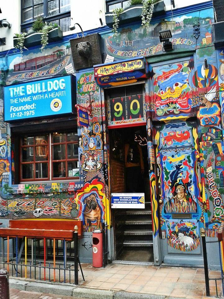 Amsterdam, the Bulldog coffee shop