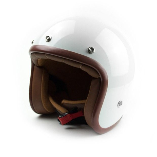 #helmade #ONE White Open Face Helmet. Buy and design yours on https://www.helmade.com/en/helmade-one-white-open-face-helmet.html