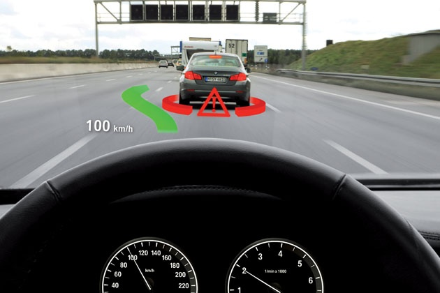 Augmented Reality im Head-up-Display