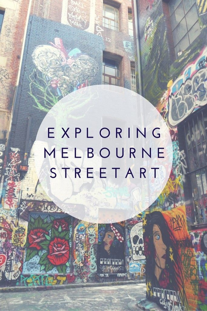 Discovering the street art scene in Melbourne