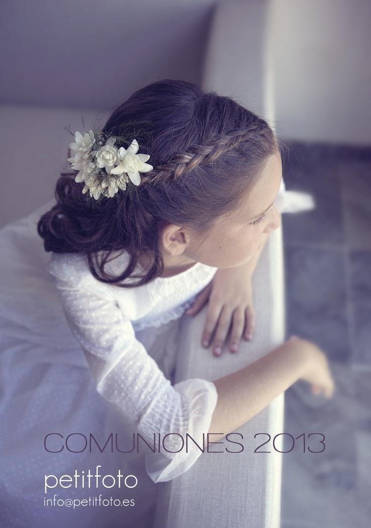 Precioso peinado de comunión