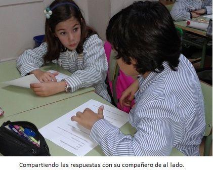 Durante el curso pasado comenzamos a dar un tratamiento especial a algunas actividades, poniendo en práctica dos estructuras de aprendizaje cooperativo: folio giratorio y lápices al centro.Tantoa...