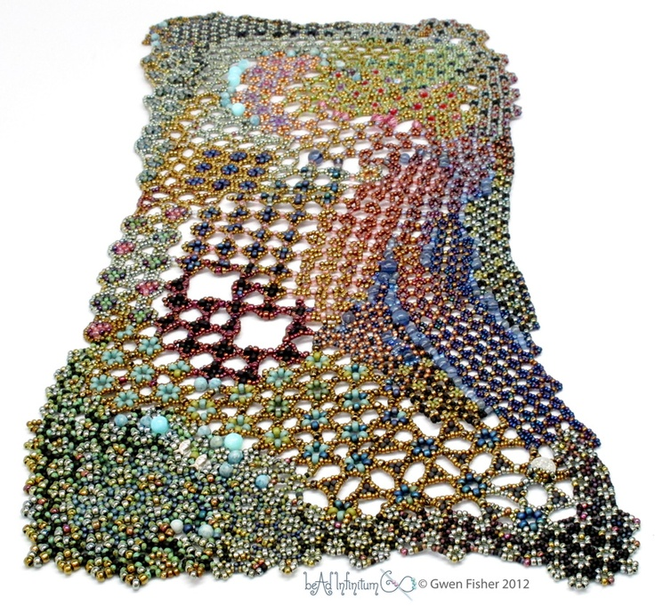 Chaos & Order. Gwen FisherBeads Inspiration, Chaos, Beautiful Gwen, Beadwork Inspiration, Freeform Piece, Http Gwenbeads Blogspot Com Au, Gwen Fisher, Beads Art, Inspiration Beadwork