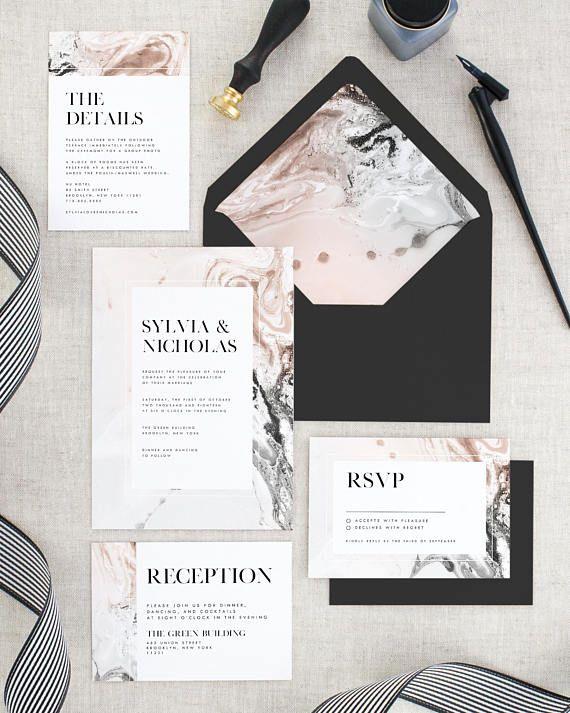 Nellie fox wedding invitations