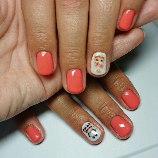 Комбинированный #маникюр, выравнивание и укрепление ногтей, покрытие BSG 2002 Coral и 01 French White, #слайдер  #biosculpturegel #биогель #укрепление #моделирование #уход #биоскульптурныйгель #BSG  #ногти #nailart #naildesign #nails #monaco_nails #комендантский #комендантскийпроспект #приморскийрайон #ногти_спб #Спб #дизайнногтей #идеальныйманикюр