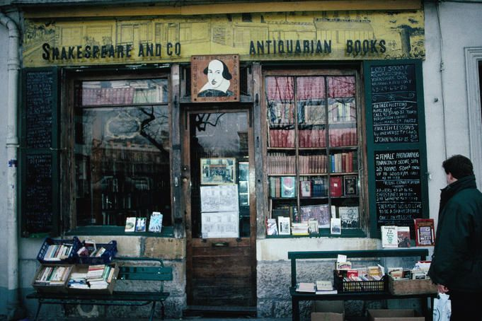 My favourite bookstore in the world: Shakespeare and Co Bookshop in Paris.