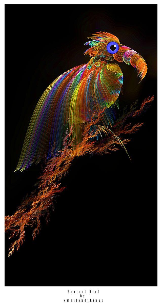 Fractal - Bird by ~emailandthings on deviantART