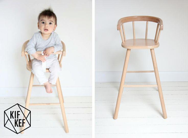 Deze #vintage look stoel is nieuw Ook in #pastel kleuren verkrijgbaar   KifKef via Kinderkamerstylist