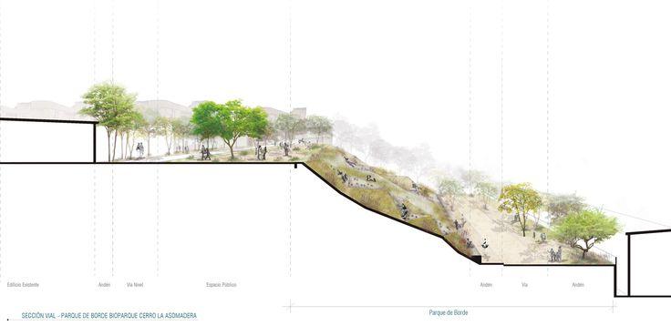 Galería - Célula Arquitectura, segundo y tercer lugar por plan maestro en cerros Nutibara y La Asomadera / Medellín - 38