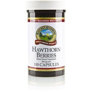 Dynamic Balanced Health Blog: Hawthorne Berries (100 Caps)