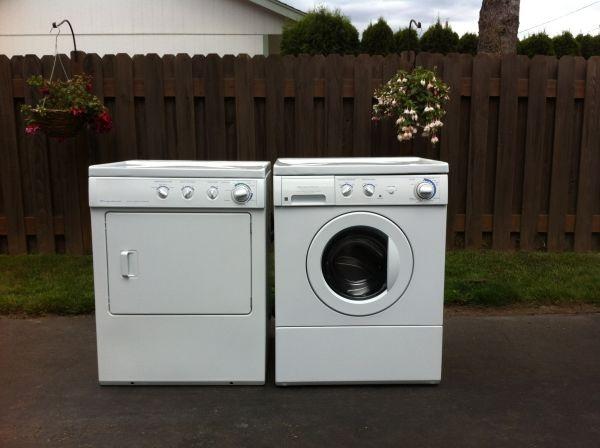 Frigidaire Stackable Washer & Dryer
