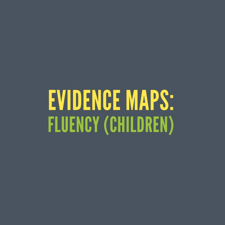Fluency (children): A comprehensive collection of evidence-based research, articles, clinical expertise and client perspectives.