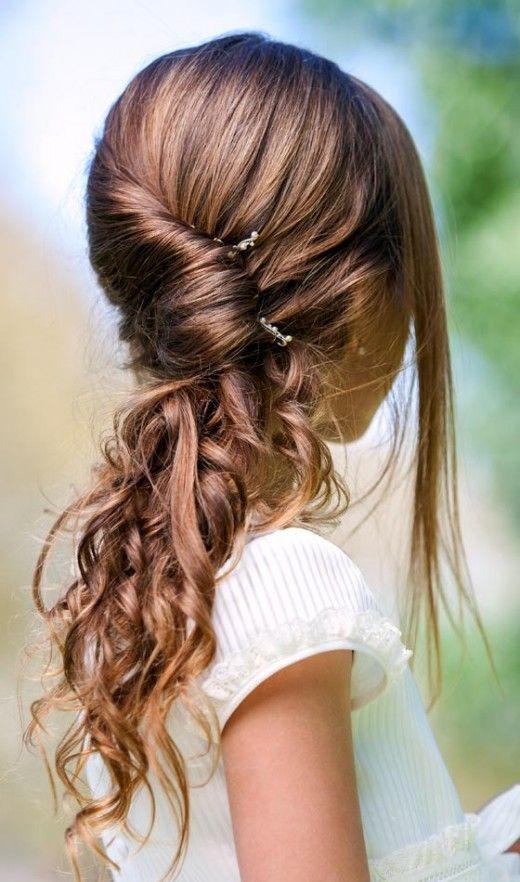 Pretty Pinned Hair