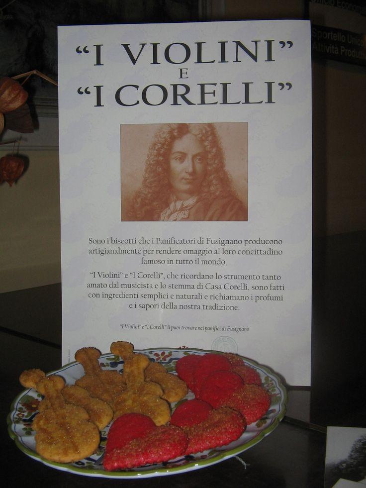 FUSIGNANO - I violini e i corelli (foto Archivio Comunale) http://www.romagnadeste.it/it/i5011490-fusignano-i-violini-e-i-corelli.htm