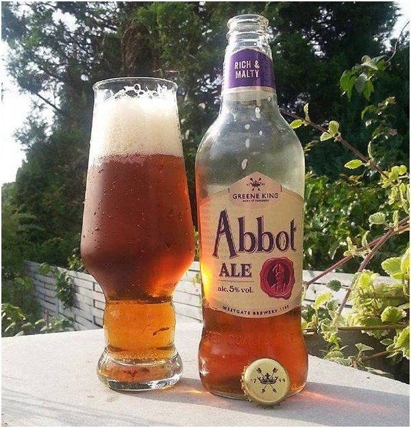 Greene King, Abbot Ale, British Beer, English Beer, British Ale
