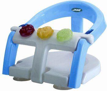 Équipé d'un capteur de température et de niveau d'eau, le siège de bain pliant Jane Fluid 360° est idéal pour donner le bain aux bébés à partir de six mois.
