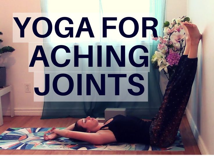 Restroative Yoga for Aching Joints - Yoga for sore joints or arthritis