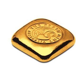 Perth Mint 1oz Gold Cast Bar
