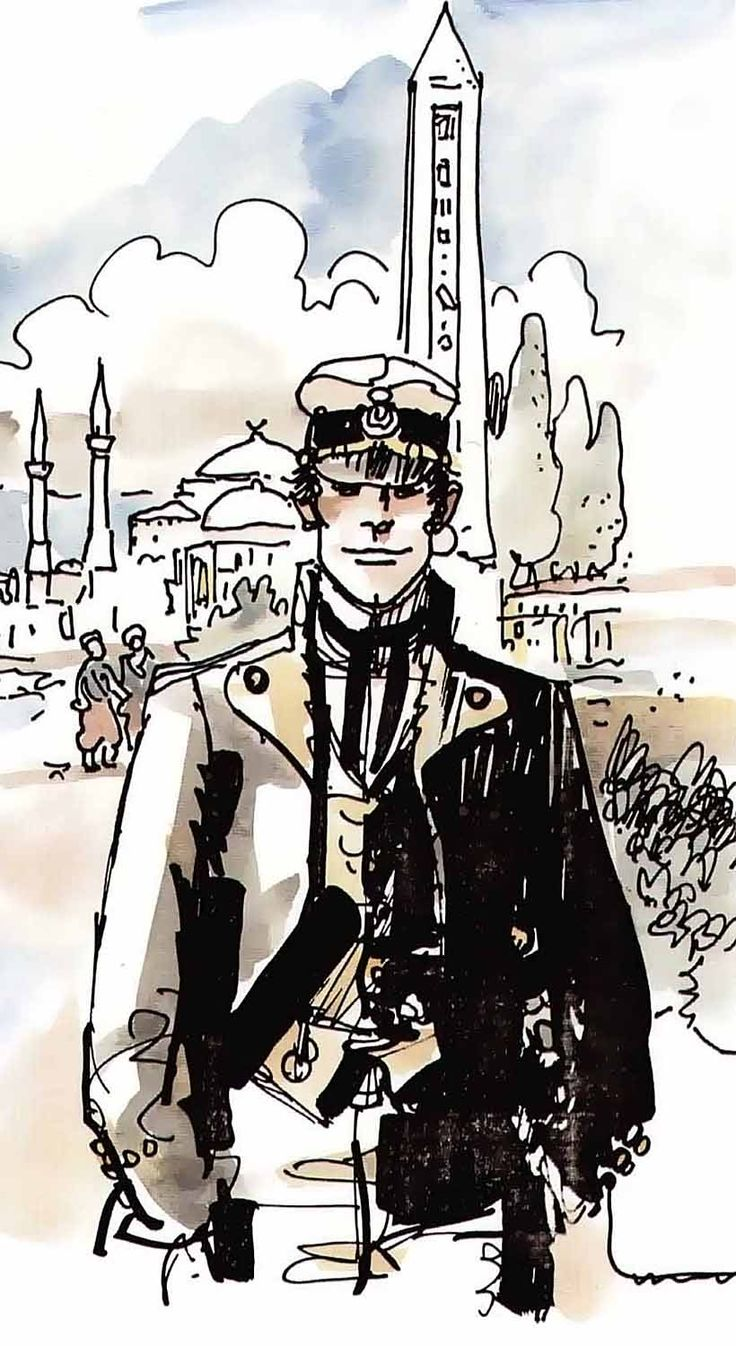 Hugo Pratt - Corto Maltese: The Golden House of Samarkand (1981)