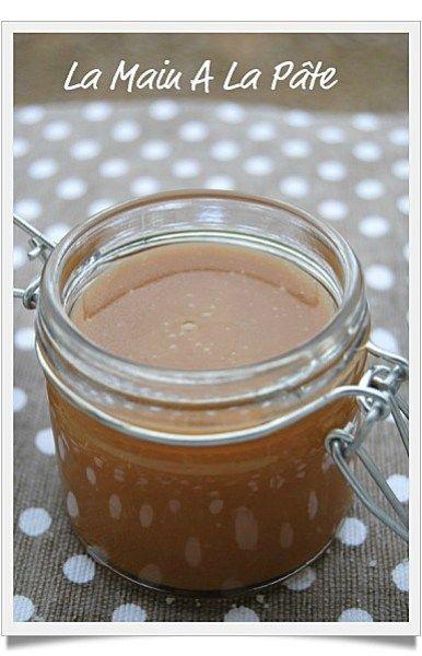 Sauce au caramel au beurre salé, rapide et inratable