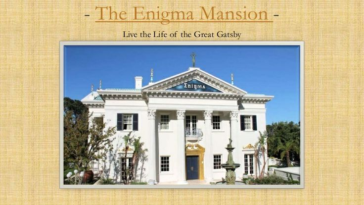 The Enigma Mansion - most luxurious and most expensive mansion in South Africa.