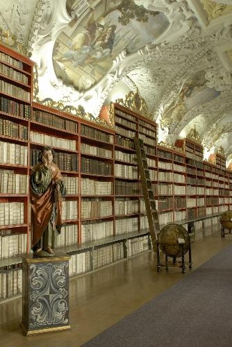 Library at Strahov monestary, Prague