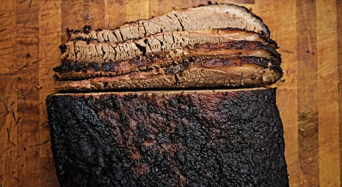 The Perfect Smoked Brisket from Franklin bbq in Austin - from Texas Monthly