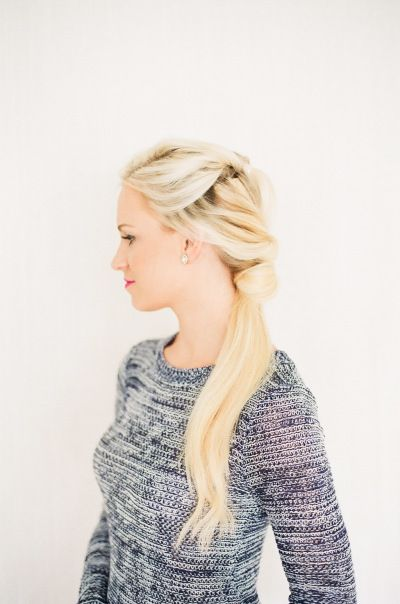 Fancy double ponytail: http://www.stylemepretty.com/collection/3315/ Photography: Ruth Eileen - http://rutheileenphotography.com/