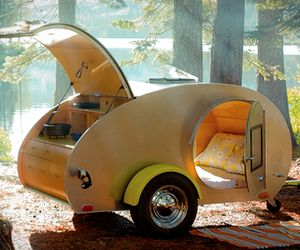 17 Best Images About Teardrop Campers On Pinterest