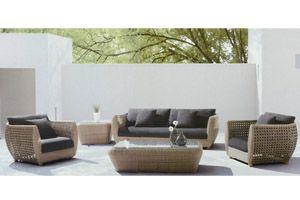 Verona 5 Piece Outdoor Wicker Lounge Setting