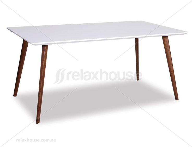 Halo Dining Table Replica Mario Cellini 160 x 90cm Rectangle Walnut