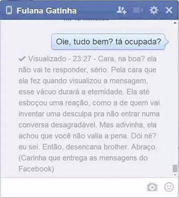 Facebook sincero