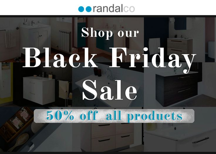 That time of the year again...🔖IT'S BLACK FRIDAY!🔖 ◾ Check out our deals on limited units ◾ 50% OFF ALL PRODUCTS‼  #blackfriday #randalco #homedesign #homedecor #homedecoration #homedecorationideas #interiordesignideas #trends #decotrends #deals #blakcfraidaydeals