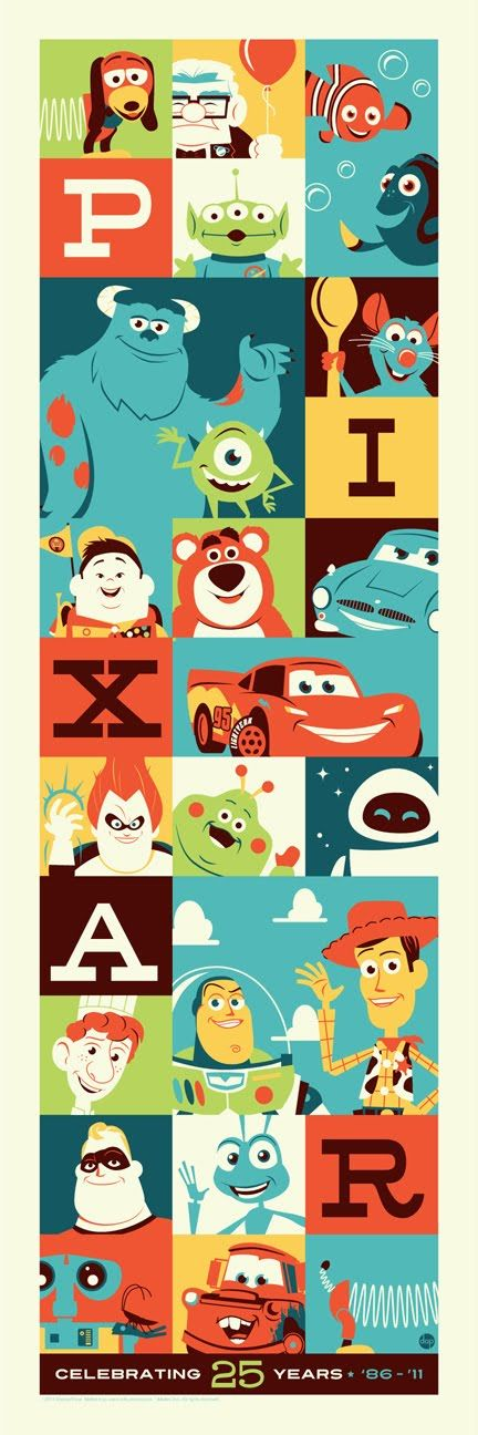 Montygog's Art-O-Rama!: 25 Years of Pixar