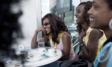 African Diaspora: Returning 'home' to claim its place at the top of the pile; Ethiopia cafe society