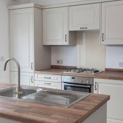 landhausstil Küche von Hampshire Design Consultancy Ltd.
