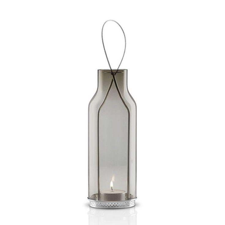 top3 by design - Eva Solo - glass lantern smokey grey 20cm