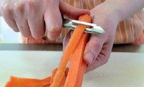 Réaliser des tagliatelles et des spaghettis de légumes - Les fruits et légumes frais
